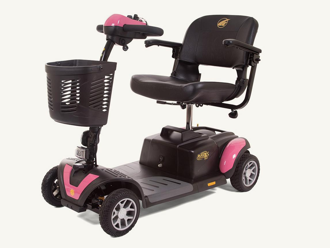 Pink Buzzaround Wheelchair