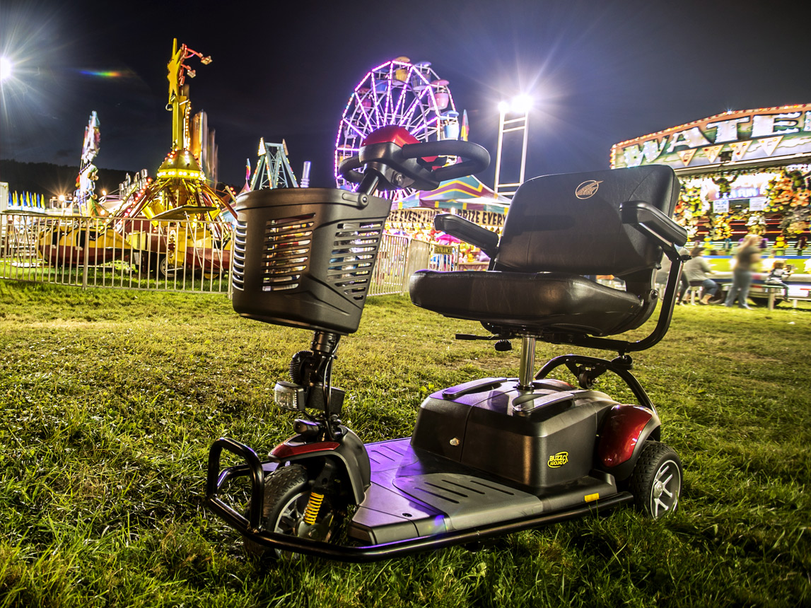 Scooter at the fair